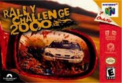Rally Challenge 2000 (USA) Box Scan